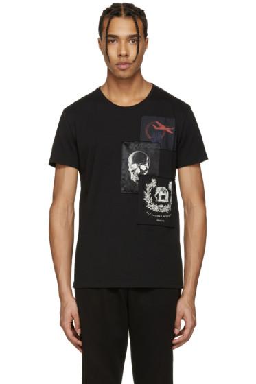 Alexander McQueen - Black Patches T-Shirt