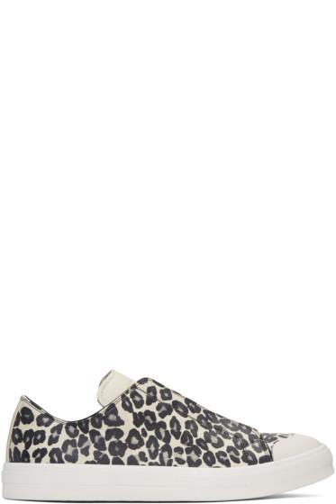 Alexander McQueen - Tan Leopard Sneakers