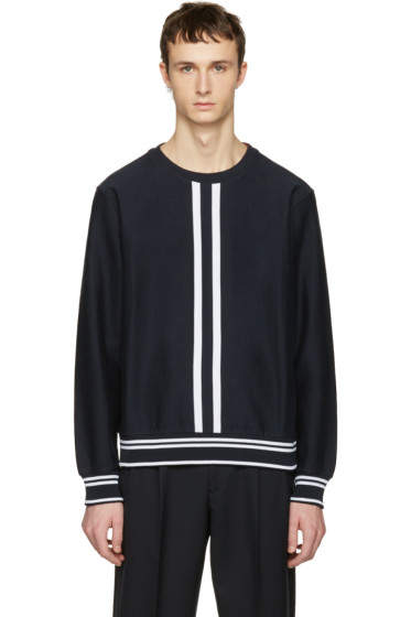 Paul Smith - Navy Racer Stripe Pullover