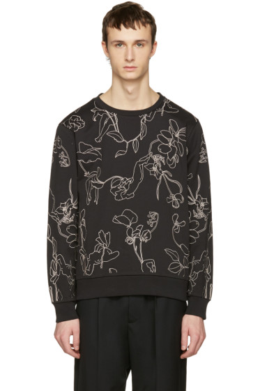 Paul Smith - Black Floral Pullover