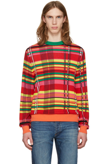 Paul Smith - Multicolor Plaid Sweater