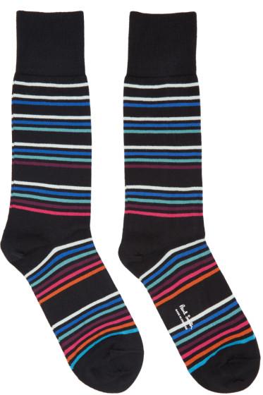 Paul Smith - Black Mondo Multo Socks