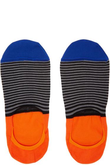 Paul Smith - Multicolor Stripe Loafer Socks