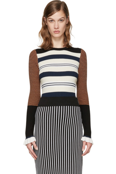 Opening Ceremony - Multicolor Striped Pullover