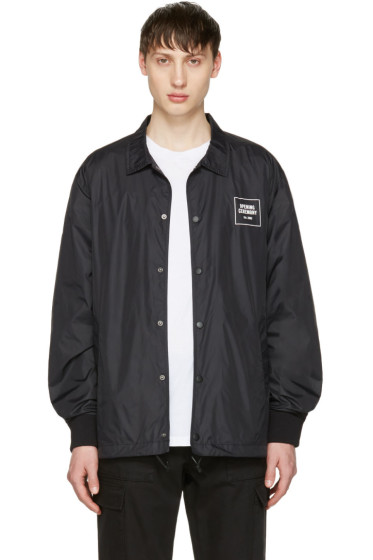 Opening Ceremony - Black Logo Coach Jacket