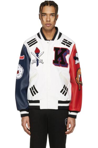 Opening Ceremony - White Korea Global Varsity Jacket