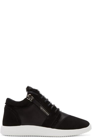 Giuseppe Zanotti - Black Singleg Jogger Sneakers