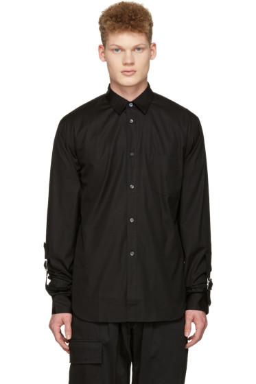 Comme des Garçons Shirt - Black Adjustable Sleeves Shirt