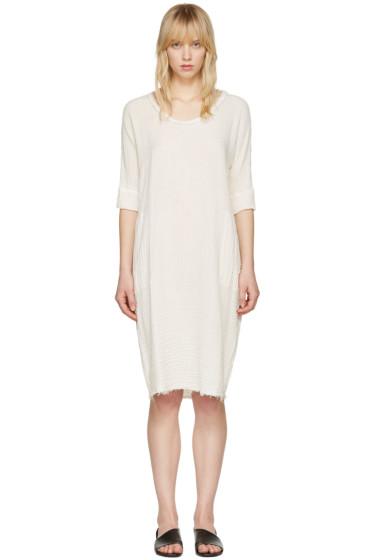 Raquel Allegra - Off-White Gauze T-Shirt Dress