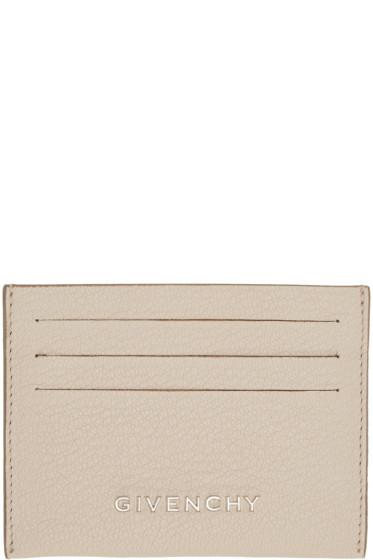 Givenchy - Beige Pandora Card Holder