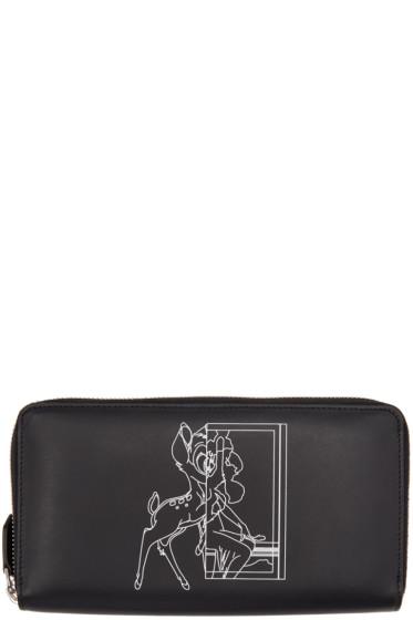 Givenchy - Black Bambi Continental Wallet