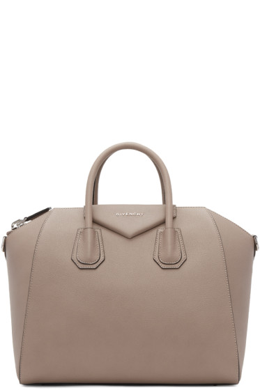 Givenchy - Taupe Medium Antigona Bag