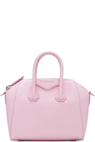 Givenchy - Pink Mini Antigona Bag
