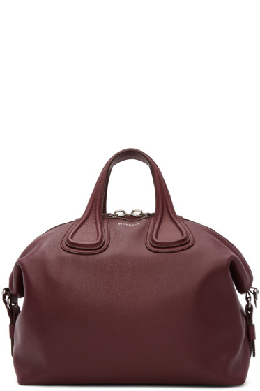 Givenchy - Burgundy Medium Nightingale Bag