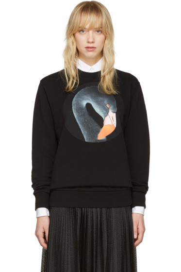 Givenchy - Black Flamingo Pullover