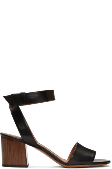 Givenchy - Black Paris Sandals