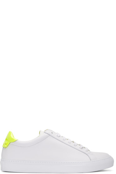 Givenchy - White & Yellow Urban Knots Sneakers