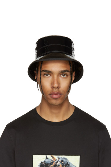 Givenchy - Black Shiny Bucket Hat