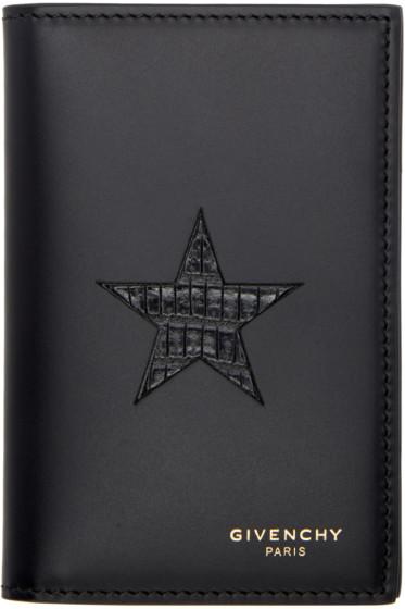 Givenchy - Black Bifold Card Holder