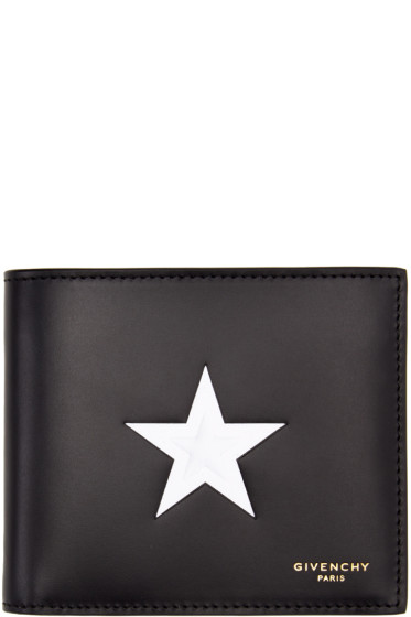 Givenchy - Black & White Star Wallet