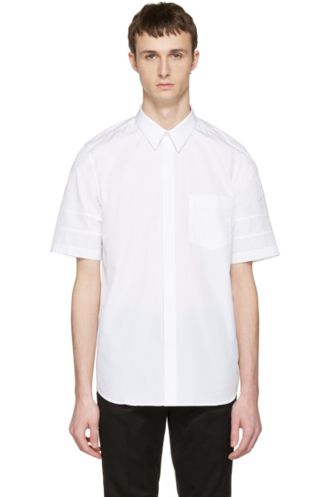 Givenchy - White Star Sleeve Shirt