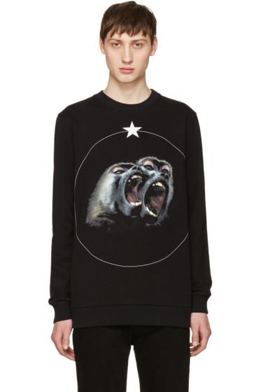 Givenchy - Black Monkey Brothers Sweatshirt