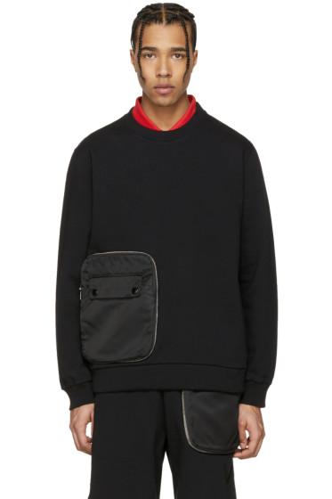 Givenchy - Black Detachable Pocket Sweatshirt