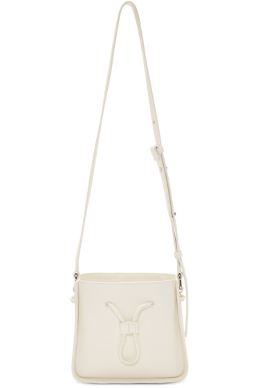 3.1 Phillip Lim - Off-White Mini Soleil Bucket Bag