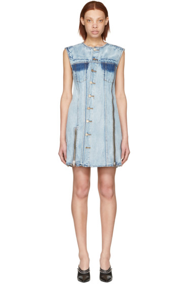 3.1 Phillip Lim - Indigo Asymmetric Denim Dress