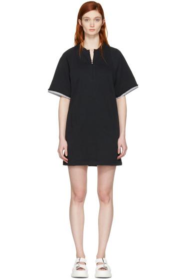 3.1 Phillip Lim - Black French Terry Dress