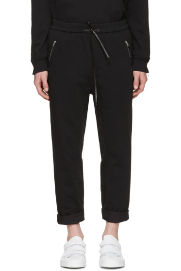 3.1 Phillip Lim - Black Tapered Lounge Pants