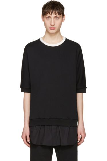 3.1 Phillip Lim - Black Short Sleeve Pullover