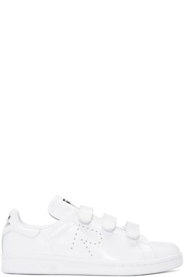 Raf Simons - White adidas Originals Edition Stan Smith Comfort Sneakers
