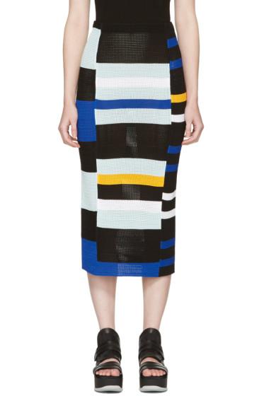 Proenza Schouler - Multicolor Crochet Pencil Skirt