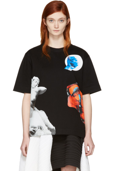Proenza Schouler - Black Sculpture T-Shirt