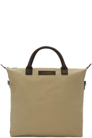 Want Les Essentiels - Beige Canvas O'Hare Tote