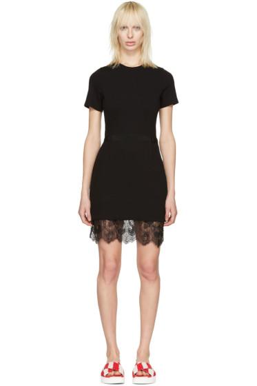 Carven - Black Lace Trim Dress