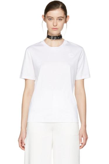 Carven - White Choker T-Shirt
