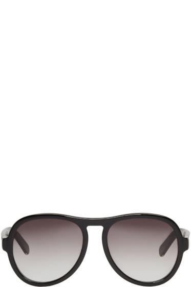 Chloé - Black Aviator Sunglasses