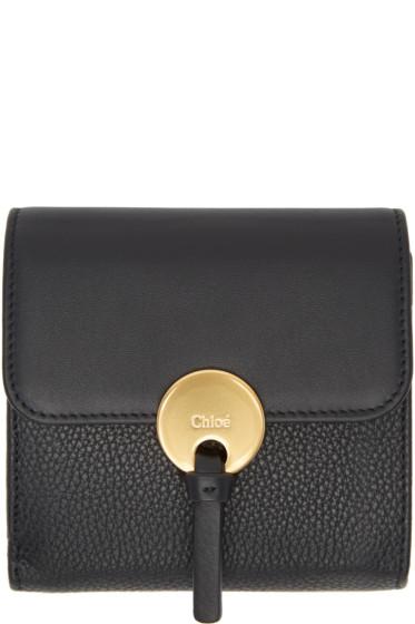 Chloé - Black Square Indy Wallet
