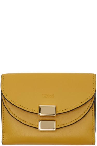 Chloé - Yellow Square Georgia Wallet