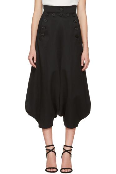 Chloé - Black Button Trousers