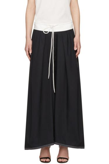 Chloé - Navy Drawstring Skirt