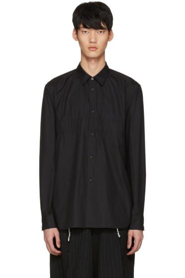 Comme des Garçons Homme Plus - Black Cotton Shirt