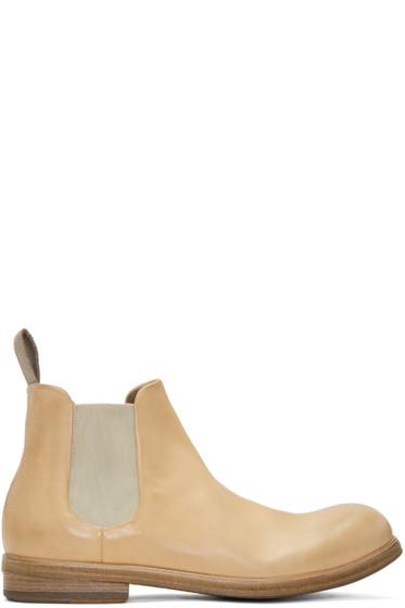 Marsèll - Beige Zucca Media Chelsea Boots