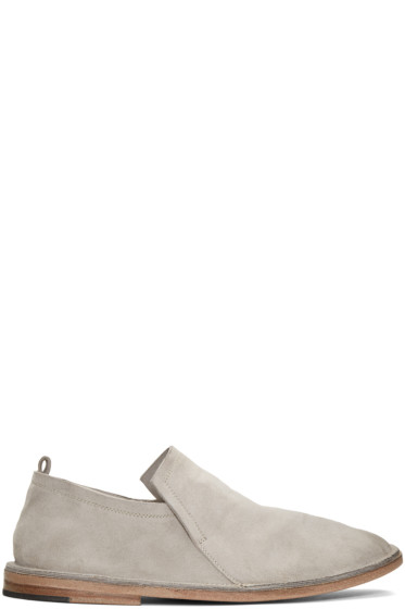 Marsèll - Grey Suede Tost Loafers