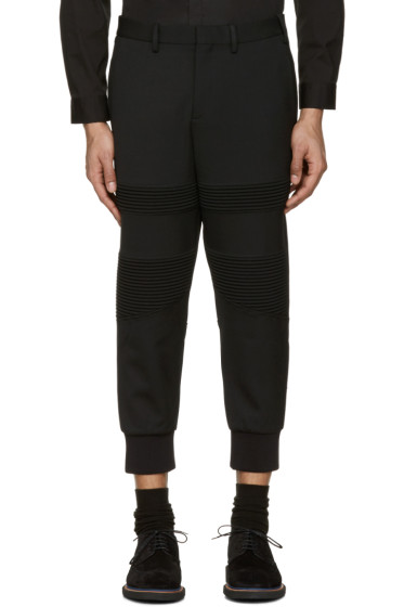 Neil Barrett - Black Biker Trousers
