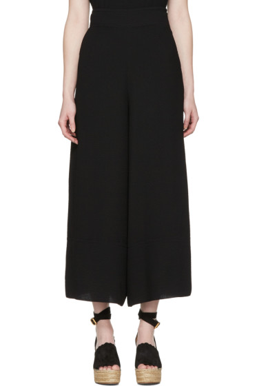 See by Chloé - Black Wide Trousers