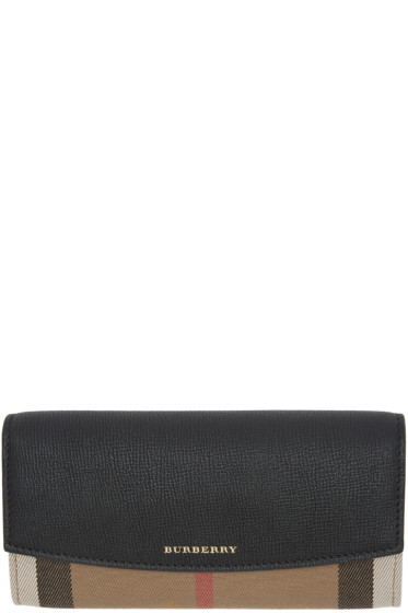Burberry - Black Porter Wallet