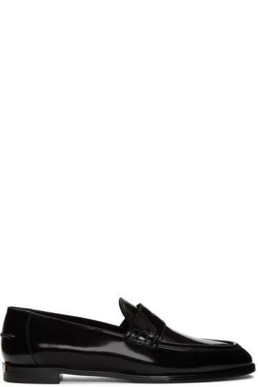 Burberry - Black Oban Loafers